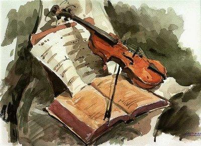 Violin y Partitura